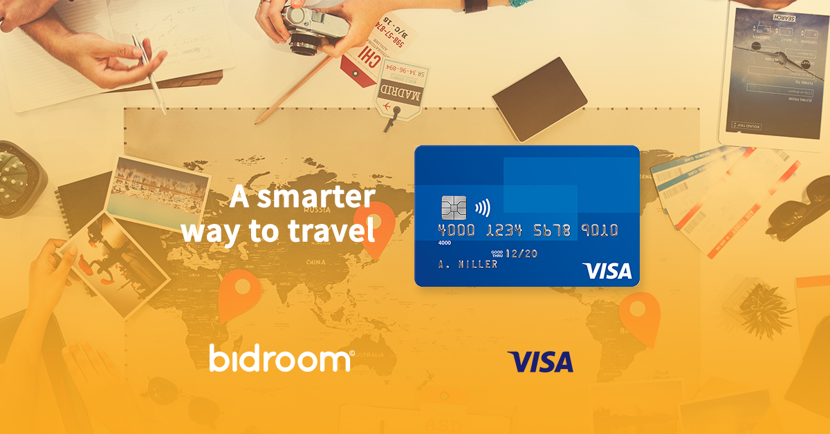 Bidroom Teams Up With Visa