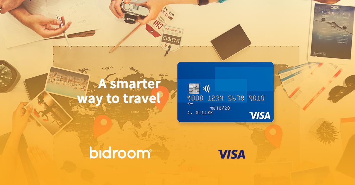 Bidroom Teams Up With Visa