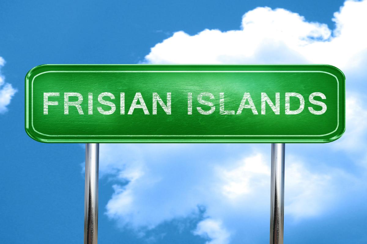 Frisian Islands Sign