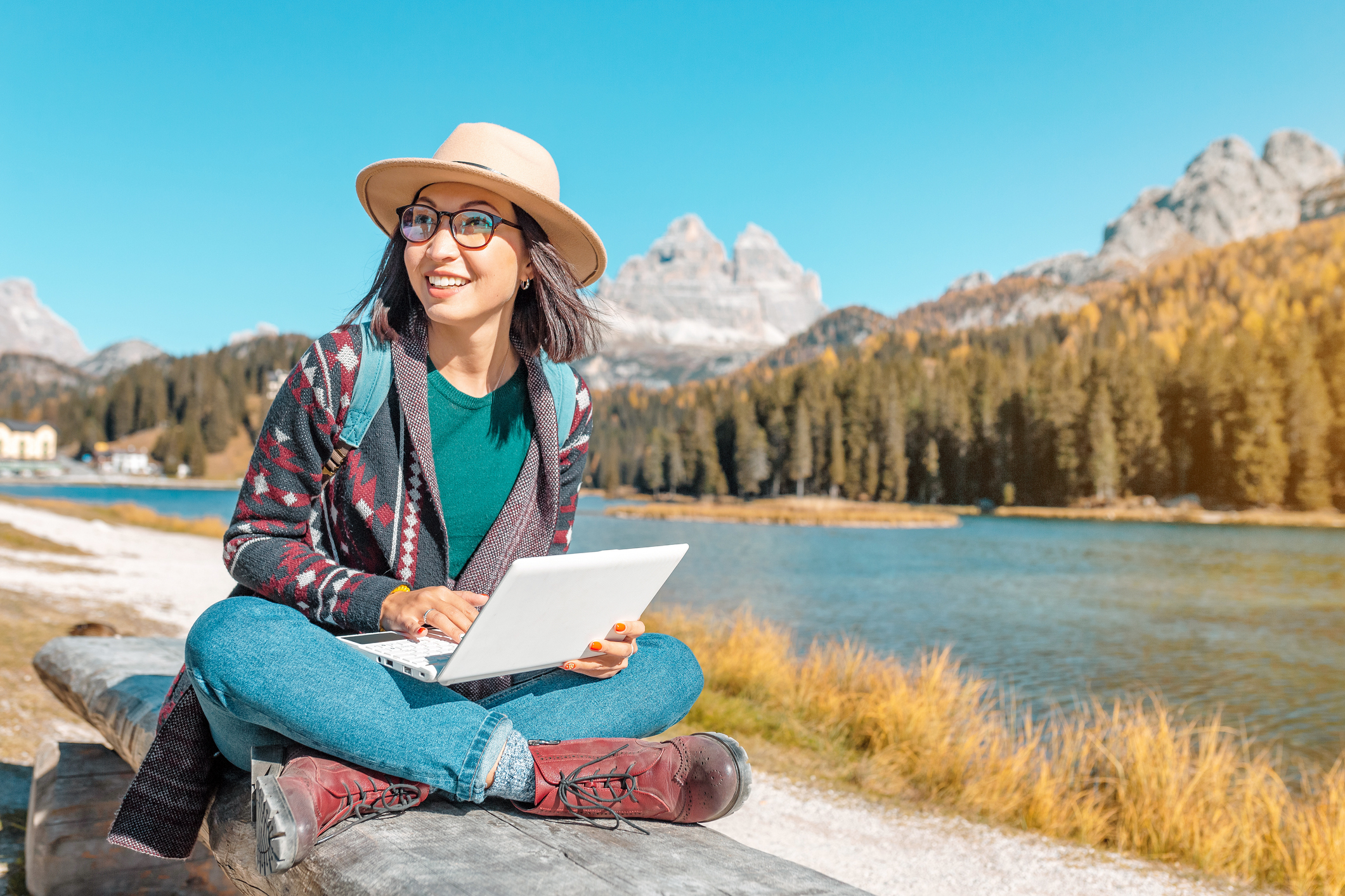 Work remotely and travel